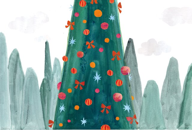 クリスマスポストカード 2015(ポストカード2枚セット)031