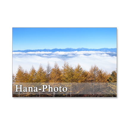 1001)  富士山の秋   ポストカード5枚組