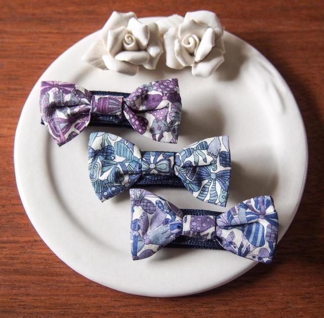 リバティ☆ Jenny's Ribbons ベビー&キッズヘアクリップ