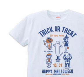 TRICK OR TREAT  S〜XL Tシャツ 【受注生産品】