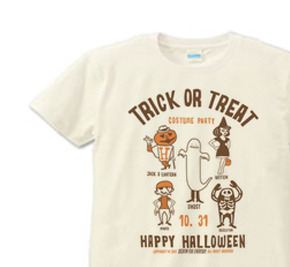 TRICK OR TREAT XS  Tシャツ【受注生産品】