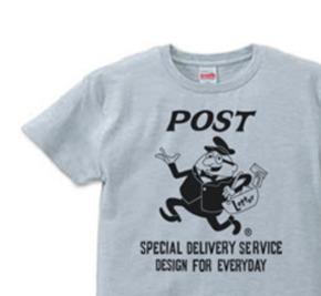 ポストマン  S〜XL  Tシャツ【受注生産品】