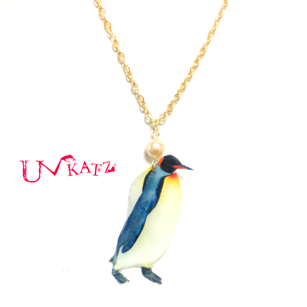 Ukatz/NO.158 ペンギンのネックレス