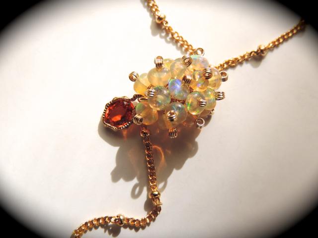 『 STYLE/J〜AYA ( 彩 ) 』Necklace by K14GF