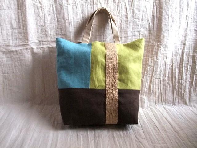 itoiro bag (brown&color)