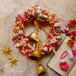 Christmas Wreath ***bobbin campana