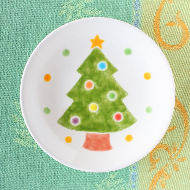 クリスマスプレート(ツリー)