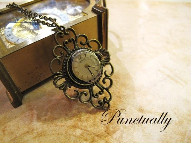 時を重ねたORISの時計 ネックレス (pt-119)