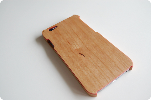 iPhone 6/6s ハイブリッドケース ストラップホール付
