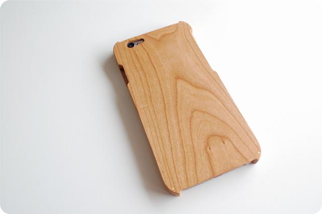 iPhone 6/6s ウッドケース チェリー