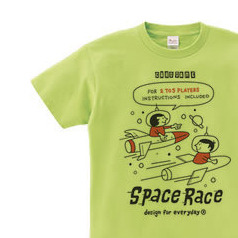 SPACE BOY & GIRL   WS〜WM?S〜XL Tシャツ【受注生産品】