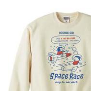 【再販】SPACE-〜アメリカン・レトロ・ゲーム〜 トレーナー【受注生産品】