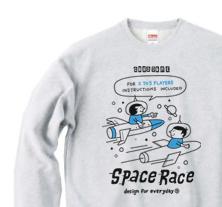 SPACE-〜アメリカン・レトロ・ゲーム〜 トレーナー【受注生産品】