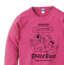 SPACE-〜アメリカン・レトロ〜トレーナー【受注生産品】
