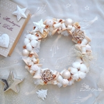 Christmas Wreath ***bobbin Bianco Natale