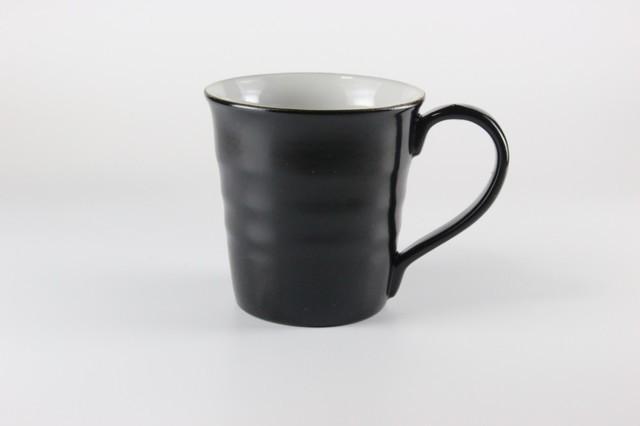 加雅美 マグカップ 黒