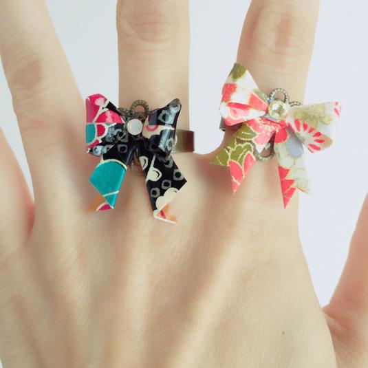 クリスマス 折り紙 指輪 折り紙 : minne.com