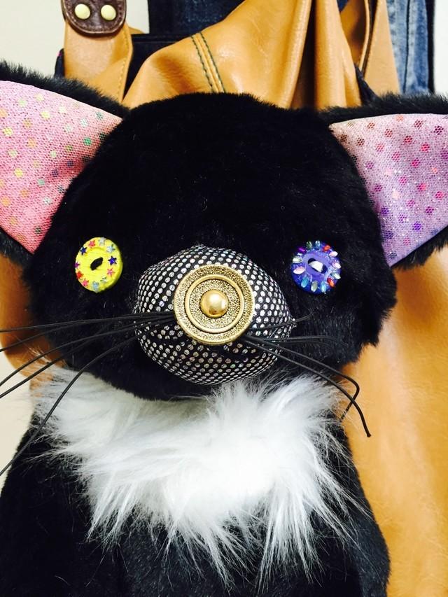 黒猫の3wyバッグ