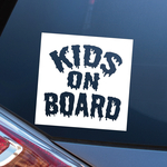 KIDS ON BOARD カッティング カーステッカー