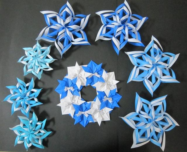 クリスマス 折り紙 折り紙 クリスマス オーナメント : minne.com