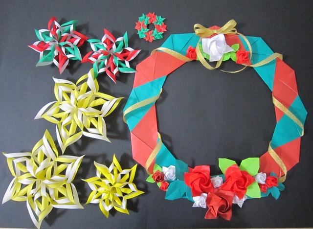 クリスマス 折り紙 折り紙 クリスマス : minne.com