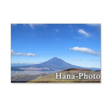 1007) 駒ケ岳からの富士山と風景   5枚組ポストカード   1007」