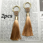 【chmm4016tasl】【2pcs】twist ring×beige tassel
