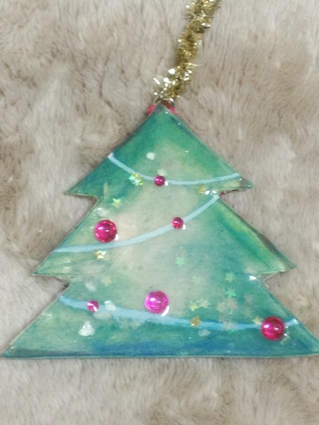 クリスマスツリーのクリスマスツリー。