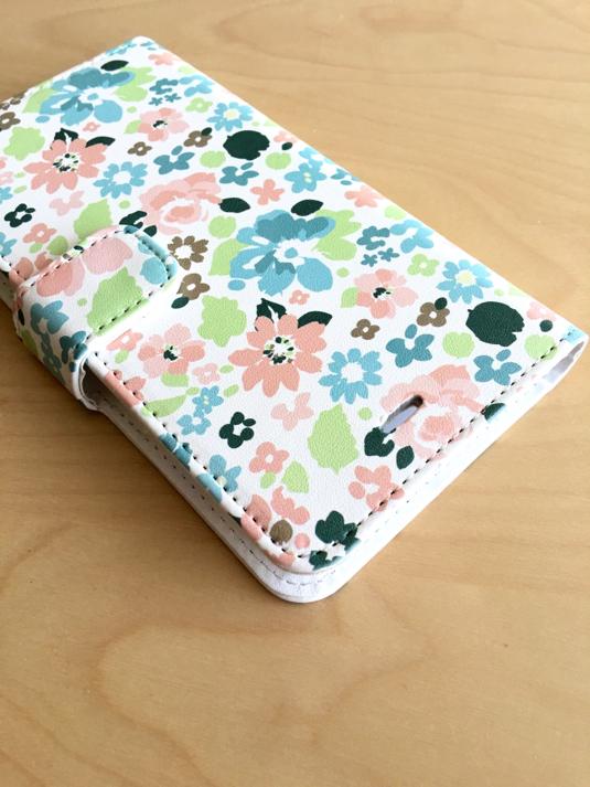 お花柄 手帳型スマホケース【iPhone6/6s・6 Plus/6s Plus対応】