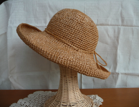 《Aさまオーダー分》ラフィア風帽子