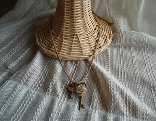 革紐のネックレス