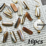 【woos4037brsr】【16pct】 natural shell chip beads 天然・シェル・チップ・ビーズ