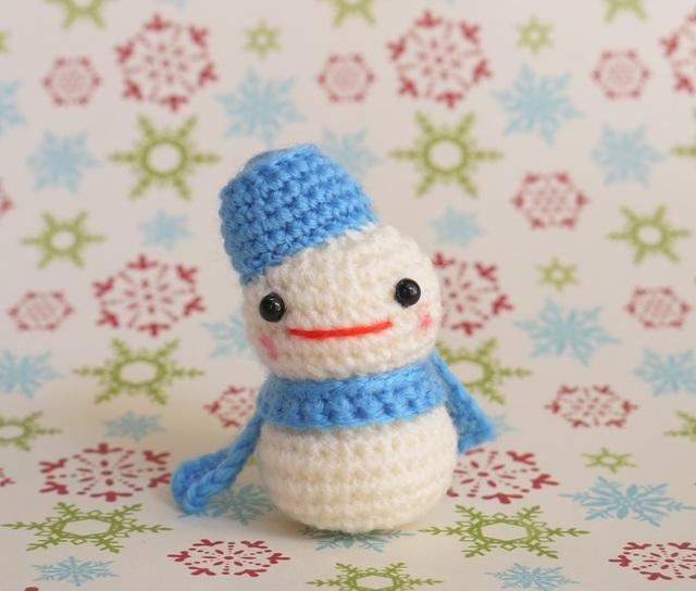雪だるまさん(青色)