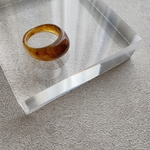 marble ring(brown)