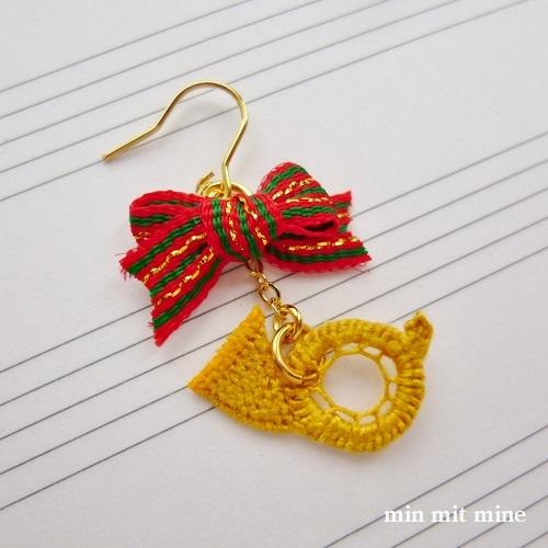 2nd Horn in F ホルンピアス/イヤリング-brillante
