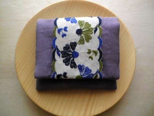 mini  purse pouch ( lavender )
