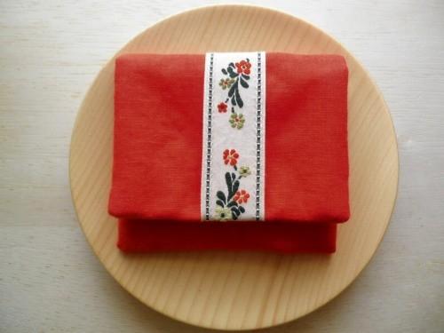 mini  purse pouch ( orange )