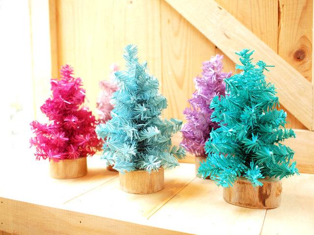 mini Christmas Tree set