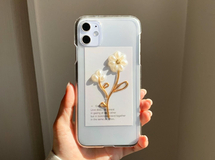 Pearl flower × Gold iPhoneケース iPhone11 iPhoneXR iPhoneXs iPhone8 iPhone11pro iPhone12 iPhone12pro