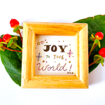 JOY TO THE WORLD !