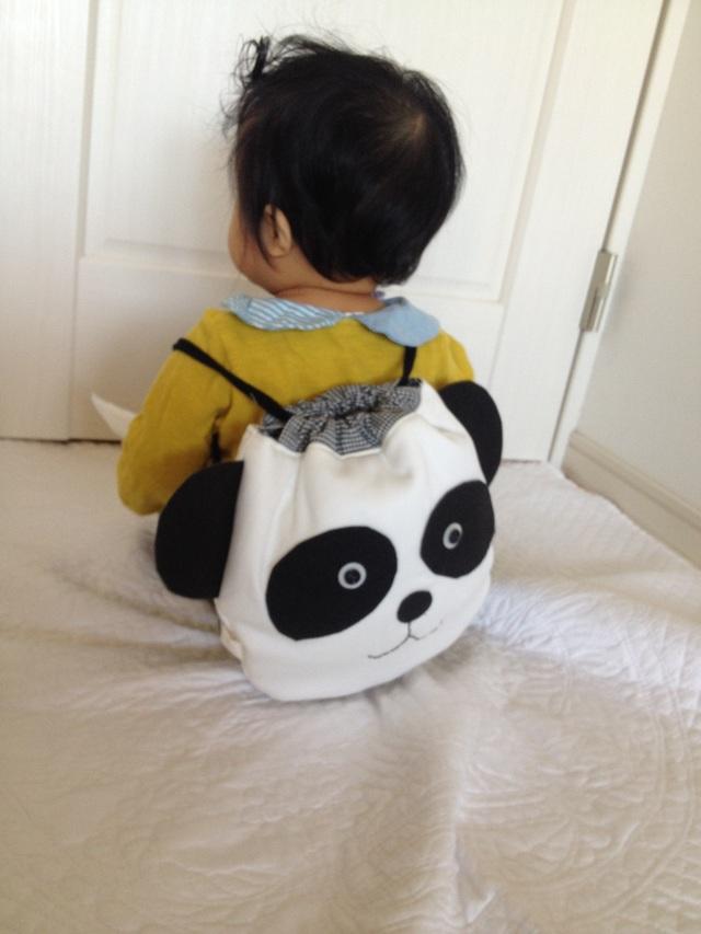 赤ちゃんリュック《パンダさん》