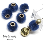 navy(6pcs) fake far beads
