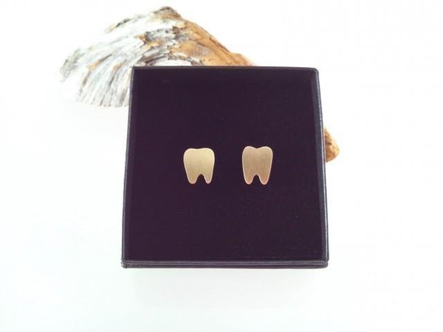 Tooth Brass カフス ◇歯の真鍮カフス◇