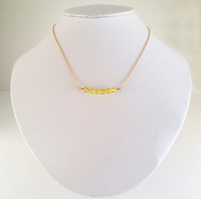 バルト海産琥珀 K14GF Necklace