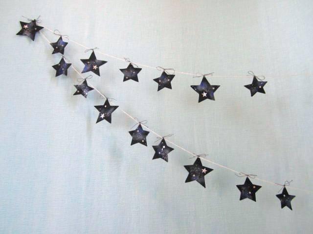再販 夜空の星のガーランド