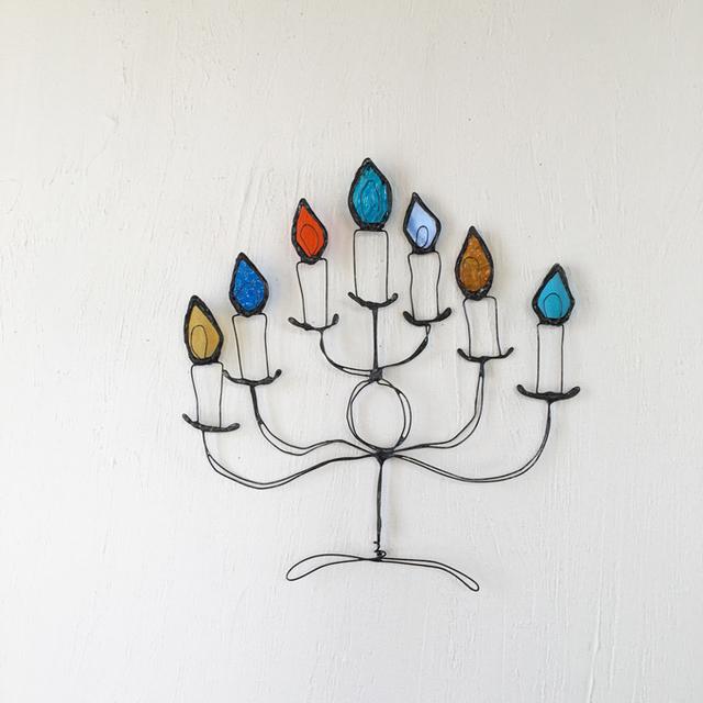 冬の飾り 燭台
