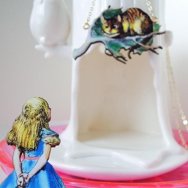アリスとチェシャ猫の駆け引きセット