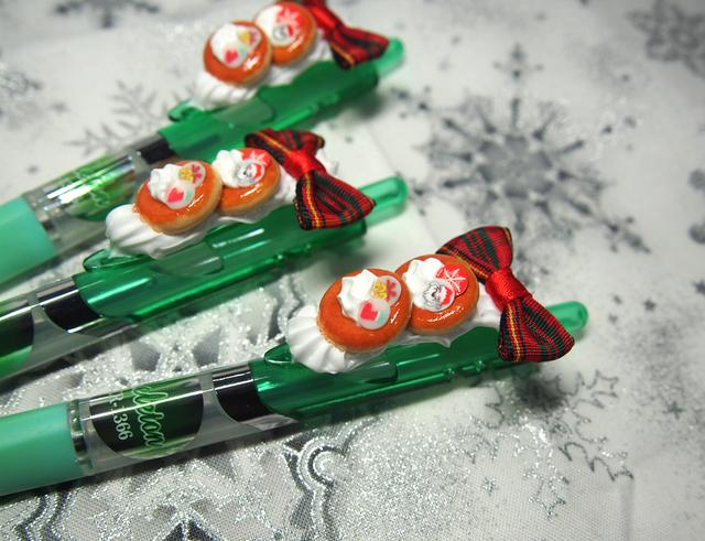 クリスマス?パンケーキ☆デコペン(緑)
