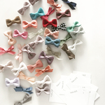 ribbon clip set  *for baby&kids* ※ヘアゴムに変更可能