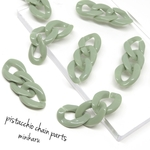 8pcs)pistacchio chain parts